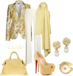 """""""Let's Do Yellow"""" by lala530 ❤ liked on Polyvore"""