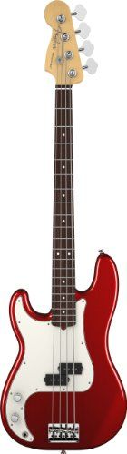 Fender American Standard Precision Bass Guitar ,Left Handed,  Rosewood Fingerboard, Mystic Red