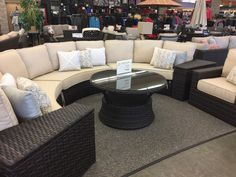 Patio Renaissance - Del Mar 5pc Curved Sectional. Chair and Coffee available as additional items.