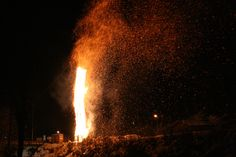 Das Bild zeigt den Funken in Silbertal im Montafon Winter, Concert, Home Decor, New Life, Sunday, Alps, Fire, Culture, Vacation