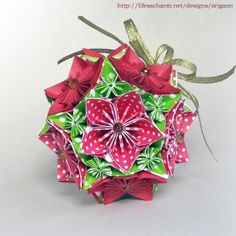 162 Best Origami Flower Ball Images Paper Art Paper Flowers