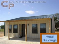 Our Portfolio of Metal Buildings, Homes, Ranches and more by Carl Patteson Construction Building A Small House, Metal Shop Building, Steel Building Homes, Metal Barn Homes, Pole Barn Homes, Pole Barns, Pole Buildings, Steel Buildings, Shop Buildings