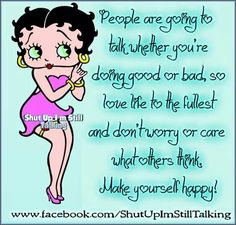 Betty Boop says