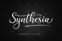 Synthesia from FontBundles.net