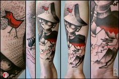Redberry Tattoo - Studio Wrocław #tovejansson