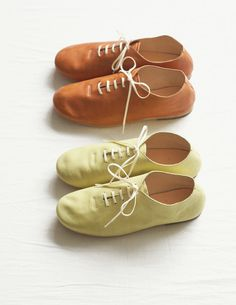 One of my favorite styles of casual shoes right now in two of my favorite colors.