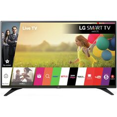 Enjoy content with this television, which uses LED technology to offer a bright picture. HDMI and USB ports make it simple to connect gaming consoles, video players, and streaming devices. Smart Tv, Boost Mobile, Wi Fi, Lg 4k, Tv Led, Led Tvs, Led Televisions, Online Shopping, Shopping