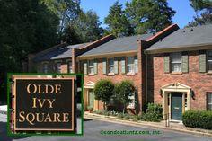 Olde Ivy Square is a small enclave of traditional brick construction townhomes located near the intersection of Roswell Road and Piedmont and convenient to the Heart of Buckhead Atlanta!  condoatlanta.com/OldeIvySquare.html  Ready to sell your current home or find your new home? CONDOATLANTA.com 404.939.5820 http://condoatlanta.com