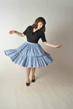 i love square dancing skirts!