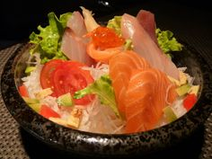 Sushi bowl for lunch in Turin, Italy | Utrip Travel Plan