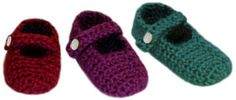Crochet Pattern: Baby Mary Jane Slippers – 3 Sizes. How can you resist? This isn't a free pattern. Pattern is available for purchase for $4.95. ¯\_(ツ)_/¯