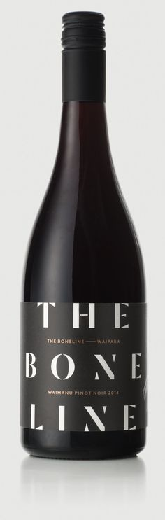 Wines - The Boneline Wine Label Art, Wine Label Design, Bottle Design, Beverage Packaging, Wine Festival, Wine And Spirits, Wine Drinks, Wine Rack, Packaging Design