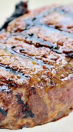 Copycat Texas Roadhouse Steak Rub _ Who loves enjoying summer with a big juicy steak?! WE DO. For years it seems, Mark & I had been trying to find the perfect steak marinate or dry rub. Finally- we ended up buying some dry rub from the Texas Roadhouse. Since then, it's all we've used. Except now we just make it at home- Score!