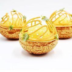 Small Desserts, Gourmet Desserts, Fancy Desserts, Plated Desserts, Delicious Desserts, Dessert Recipes, Beautiful Desserts, Food Decoration, Food Design