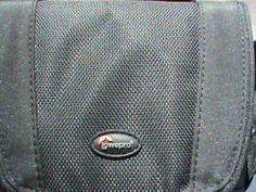 Lowepro Camcorder Case - Black Padded with shoulder strap and accessory pouches