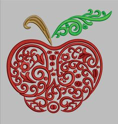 Hey, I found this really awesome Etsy listing at https://www.etsy.com/listing/226931664/gg1390-swirly-apple-3-colors