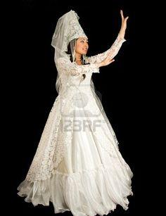 #Kazakh national bride dress. Collection dress #2dayslook # Collectionfashiondress www.2dayslook.com