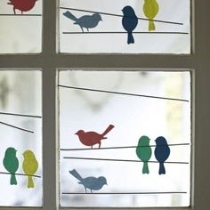 27 interesting proposals for window decoration - DIY Kinderzimmer Ideen Diy And Crafts, Crafts For Kids, Arts And Crafts, Diy Y Manualidades, Classroom Decor, Paper Crafting, Diy For Kids, Paper Art, Kids Room