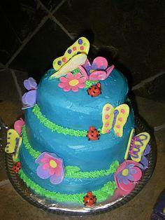 Butterfly cake!