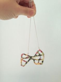 Bouquet of Street Maps Necklace
