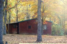 I grew up in this cabin.