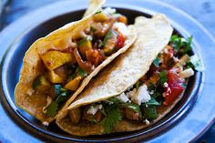 Veggie Tacos - One of D's favorites