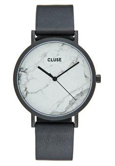 Zu dieser Uhr gibt es nur eines zu sagen – traumhaft! Cluse LA ROCHE - Uhr - black/white für 159,95 € (30.07.16) versandkostenfrei bei Zalando bestellen.