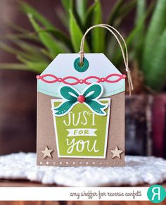 Reverse Confetti | Boxes 'n Balloons stamps; Boxes 'n Balloons, Topped Off Tag, Top O' the Tag, Edge Essentials, Linked Garland Confetti Cuts