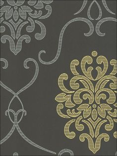 Great pattern for stencil or fabric - frame it, wrap it around foam, create a seat cushion for entry or paint