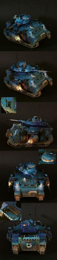 Ultramarine Predator