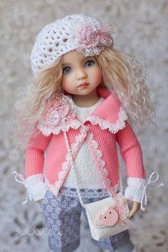 #Little_Darling outfit #Clothes_for_doll Dianna Effner Handmade complete set