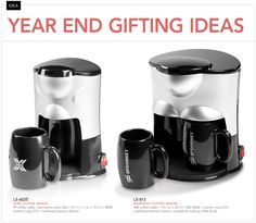 Year End Gift Ideas – Coffee Maker http://www.mhpromo.co.za