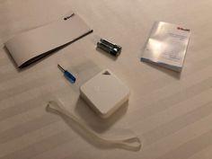#Test de Smart Temp/Hum Sensor de #Beewi
