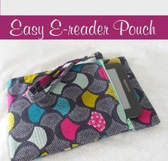 Easy E-reader pouch