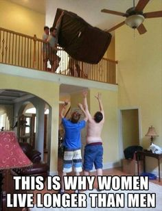 This is why women live longer than men….