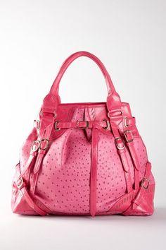 Segolene Paris Ostrich Embossed Strap Detail Bag (Vegan Material) - http://www.hautelook.com/short/3AL7U