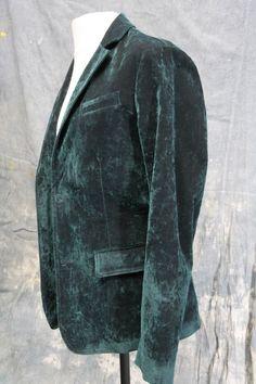 Mens un-worn green designer blazer by Bottega Veneta 40 chest,