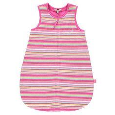 Turbulette rayée en éponge doublée jersey (de la naissance au 6 mois)  Additional