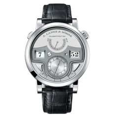 2017 New released Replica A. Lange & Sohne Zeitwerk Minute Repeater Platinum Men's Watch watch fake sale Cheap from China. Men's Watches, Pre Owned Watches, Luxury Watches, Cool Watches, Watches For Men, Fancy Watches, Latest Watches, Casual Watches, Patek Philippe