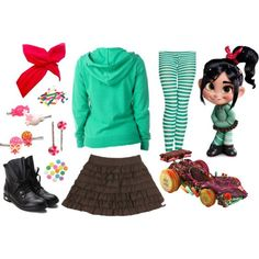 Kids vanellope costume deluxe the wreck it ralph and vanellope kids ralph and vanellope von schweetz of Disney Halloween Costumes, Cute Costumes, Halloween Kostüm, Halloween Cosplay, Cosplay Costumes, Disney Costumes For Kids, Disney Characters Costumes, Costume Ideas, Vanellope Cosplay