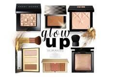 """""""Glow Up"""" by marionmeyer on Polyvore featuring Schönheit, Bobbi Brown Cosmetics, Givenchy, tarte, Estée Lauder, Burberry, Bare Escentuals, EcoTools, NARS Cosmetics und glowup"""
