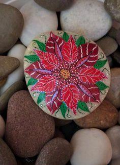 Poinsettia Stone