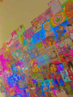 Aesthetic Indie, Aesthetic Room Decor, Punk Rock Bedroom, Ideas Decorar Habitacion, Estilo Indie, Indie Room Decor, Chill Room, Retro Room, Grunge Room