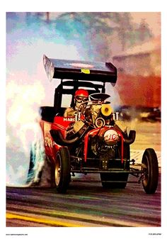 Paying tribute to another drag racing great-Wild Willie Borsch and his Winged Express fuel altered. This cool classic measure 14 x 20. Printed on 15pt. coated card stock. Ships well packed in a sturdy stay flat envelope. I do combine shipping. Please ask any questions before buying. Rat Rods, Nhra Drag Racing, Auto Racing, Course Vintage, Dragster, Volkswagen, Old Race Cars, Vintage Race Car, Drag Cars