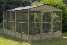Walk in chicken run around an omlet cube chicken coop. This is a higher spec than the omlet walk in run for the same cost Walk In Chicken Coop, Chicken Coop Decor, Chicken Home, Portable Chicken Coop, Chicken Garden, Chicken Coop Designs, Backyard Chicken Coops, Chicken Coop Plans, Building A Chicken Coop