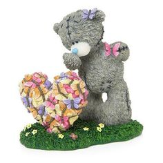 Me To You Butterfly Kisses Figurine - Highly Collectable Tatty Teddy