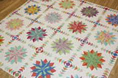 Emma jansen's Harlequin Stars 2 - want to do! Waiting for fabric packs