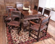 Set of 8 chairs - Marhamchurch Antiques