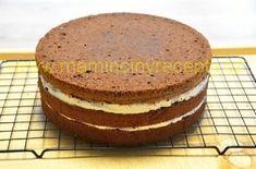 Čokoládový dort s mascarpone Vanilla Cake, Tiramisu, Camembert Cheese, Food And Drink, Cooking Recipes, Bread, Breakfast, Ethnic Recipes, Food