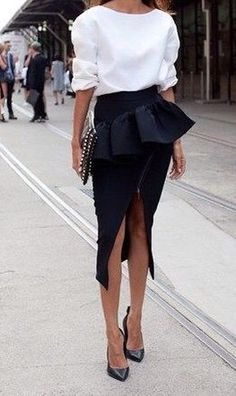 The frill on this is a bit dramatic for me but love the rest
